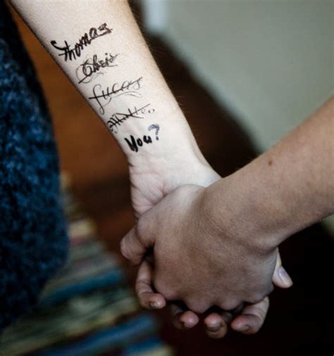 tattoo name crossed out crossed out boys names you tattooforaweek fake