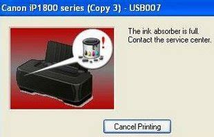 canon ip1880 ink absorber resetter resetter printer canon pixma ip 1200 1300 15oo 1980 1890