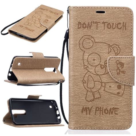 Lg K10 2017 Ory Flip Casing Cover Anti 1 for lg k7 k8 k10 2017 leather flip with string stand wallet cover for lg k3