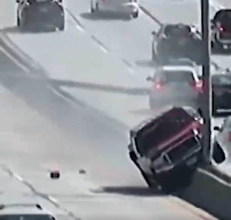must see: wi driver takes out highway light poles — snotapwi