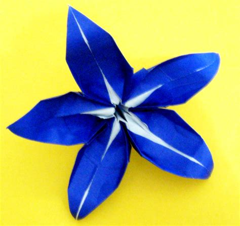 Origami 5 Petal Flower - origami 5 petal flower 28 images origami flowers