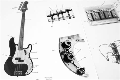 fender standard precision bass wiring diagram