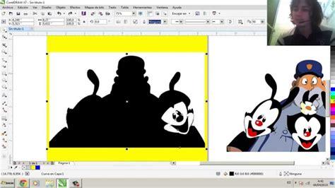 corel draw x4 que es como vectorizar una imagen coreldraw x7 youtube
