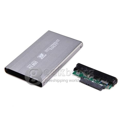 Epro Enclosure Hdd Sata Pocket 3 0 by 2 5 Quot Sata To Usb 3 0 Hdd Disk Drive Silver