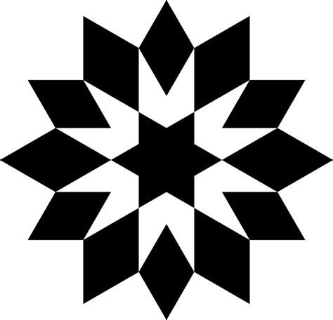 quilt pattern svg free vector graphic jewish quilt shape star free