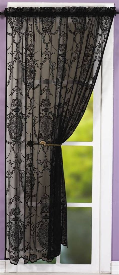 Black Lace Window Valance 25 Best Ideas About White Lace Curtains On