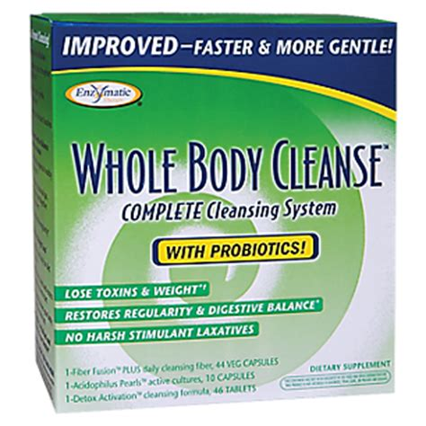 Whole Foods Detox Cleanse Reviews by Whole Cleanse 1 Kit By Enzymatic Therapy At The