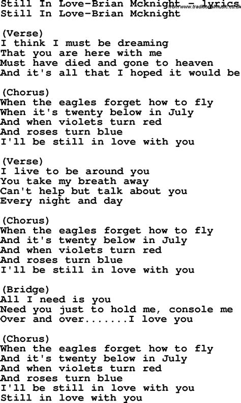 song lyrics in song lyrics for still in brian mcknight