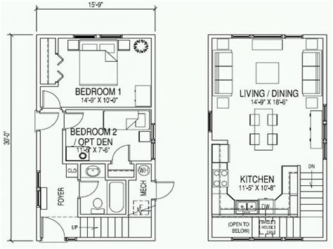 small 2 story floor plans small cottage home plan with garage small 2 story cottage