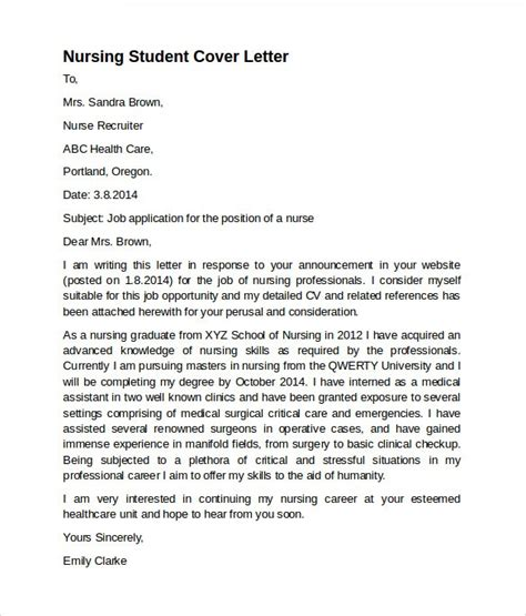 sle cover letter for recent graduate cover letter sle rn new grad 28 images nursing cover