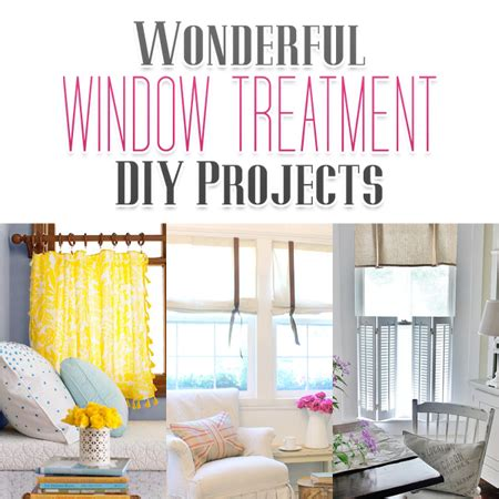 Wonderful Window Treatment DIY Projects   The Cottage Market