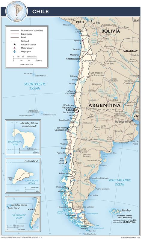 political map of chile chile map blank political chile map with cities