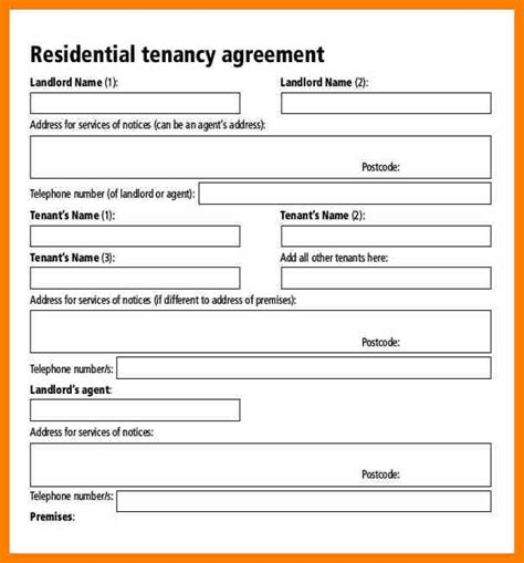 %name simple room rental agreement   Room Rental Agreement Template   Real Estate Forms