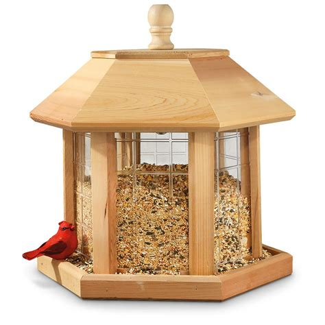 Outside Bird Feeders Outdoor Legrande Bird Gazebo Feeder 617489 Bird Houses