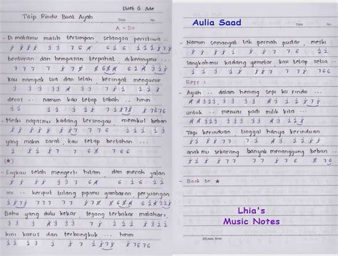 tutorial keyboard lagu rindu not angka ebiet g ade titip rindu buat ayah