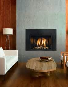 Contemporary Fireplace Inserts Gas Mendota Fullview Modern Gas Insert The Fireplace Club