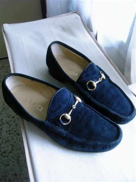 blue gucci loafers s blue sway gucci loafers in his closet