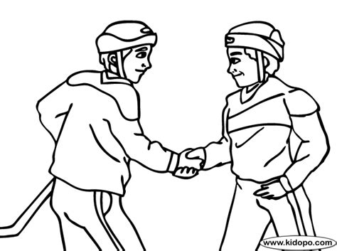 coloring page of shaking hands shaking hands coloring page