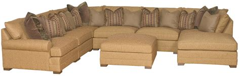 casbah sofa transitional u shaped sectional sofa by king hickory