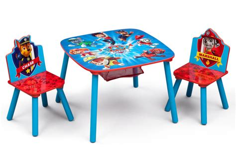 paw patrol chair set with storage delta children