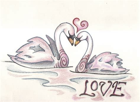 images of love drawings love swans by spiralpathdesigns on deviantart