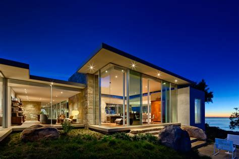 santa barbara coastal beach guest house nma architects hilltop residence with panoramic coastal views in