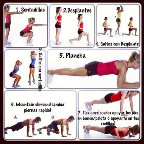 Imagenes De Ejercicios Para Workout | rutina de ejercicio para quemar grasa se puede hacer