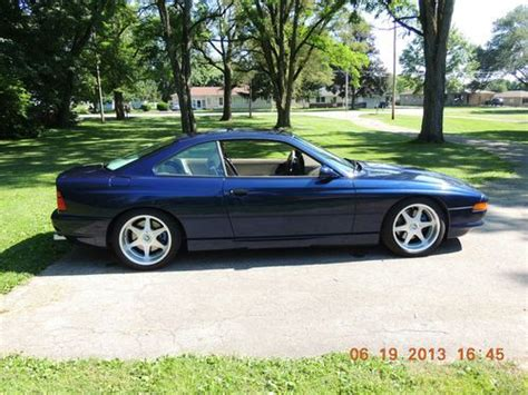 how do i learn about cars 1992 bmw 5 series seat position control purchase used 1992 bmw 850i in yorktown indiana united states for us 14 999 00