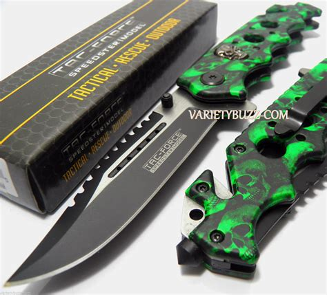 green knives 8 quot karambit claw blade assisted open
