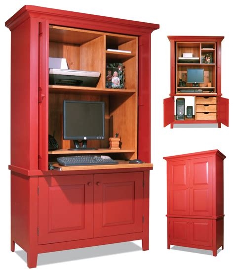 Computer Armoire Popular Woodworking Magazine Computer Armoires