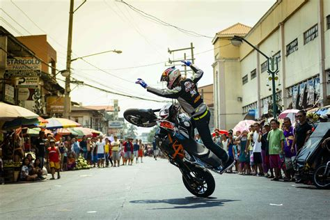 Sportbike Stunt Riding Through The Philippines Man Of Many
