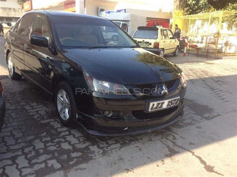 modified mitsubishi lancer 2005 mitsubishi lancer glx 1 3 2005 for sale in rawalpindi