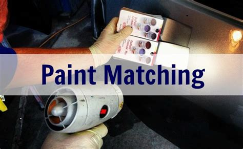 matching paint services athans auto body paint