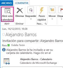 Calendario Compartido Compartir Un Calendario De Outlook Con Otras Personas
