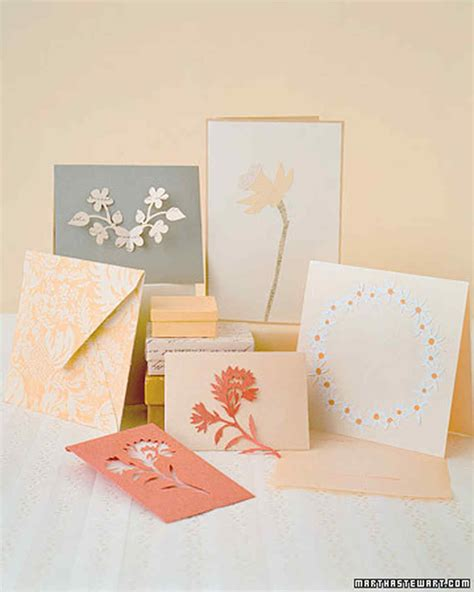 Martha Stewart Thank You Card Template handmade s day card projects martha stewart