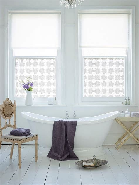 window film bathroom revitalized luxury 30 soothing shabby chic bathrooms