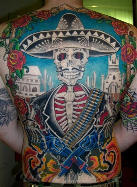 gangster tattoo designs mexican