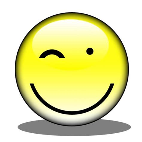 winking face clipart free download best winking face smiley with a wink clipart best