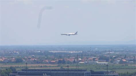 emirates zagreb dubai emirates landing in zagreb youtube