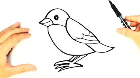Como Dibujar Un Pajaro | c 243 mo dibujar un p 225 jaro paso a paso para ni 241 os dibujo de