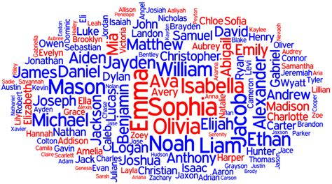 behind the name popular names in the united states 2013