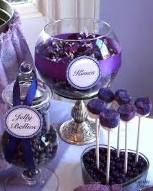 Purple baby shower party ideas photo 6 of 12 catch my party
