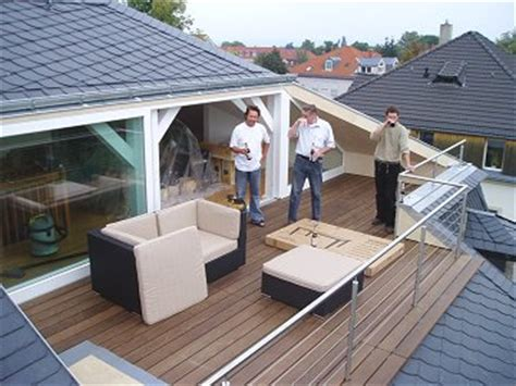 walmdach ausbauen balkone