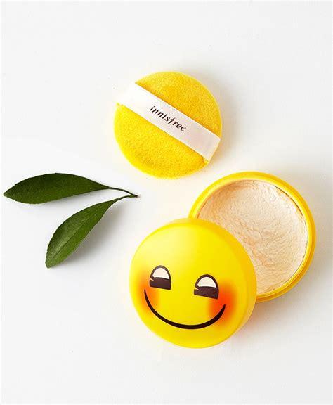 Innisfree No Sebum Powder 5g Emoji Edition Emoticon phấn phủ kiềm dầu innisfree ch 237 nh h 227 ng gi 225 tốt