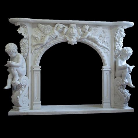 Marble Fireplace Mantel Shelf by Simple Style Home Garden Marble Fireplace Mantel Shelf