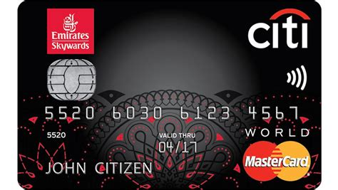 Frequent Flyer Credit Card Review: Emirates Citi World