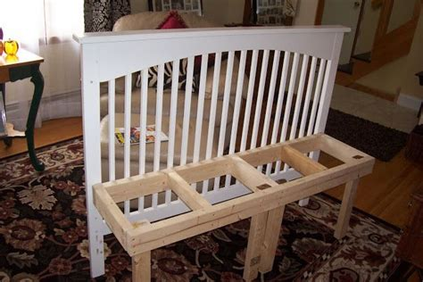 baby work bench 1000 ideas about crib bench on pinterest old cribs