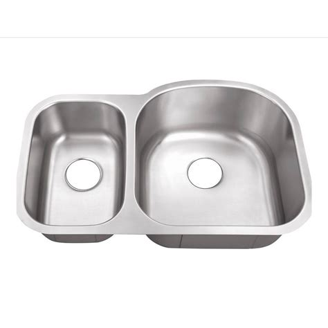 foret sink reviews foret undermount stainless steel 32 in 0 30 70