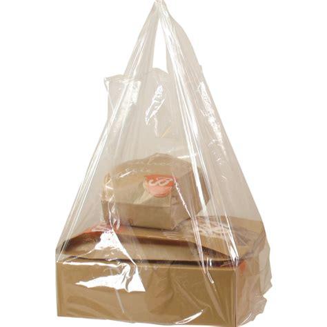 Tas Transparant tas heerlijk ldpe hemd 27x6x47cm hemdtas transparant 290151 neutraal draagtassen