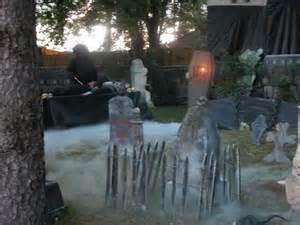 halloween yard decoration scary cemetery infobarrel
